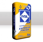 Ivsil Express-Finish - смесь для срочного, финишного выравнивания